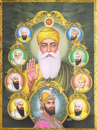 gurus of sikh religion