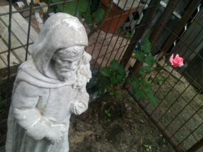 St. Fiacre Patron Saint of Gardeners